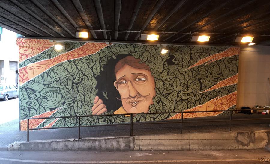 art streetart paint walls Character