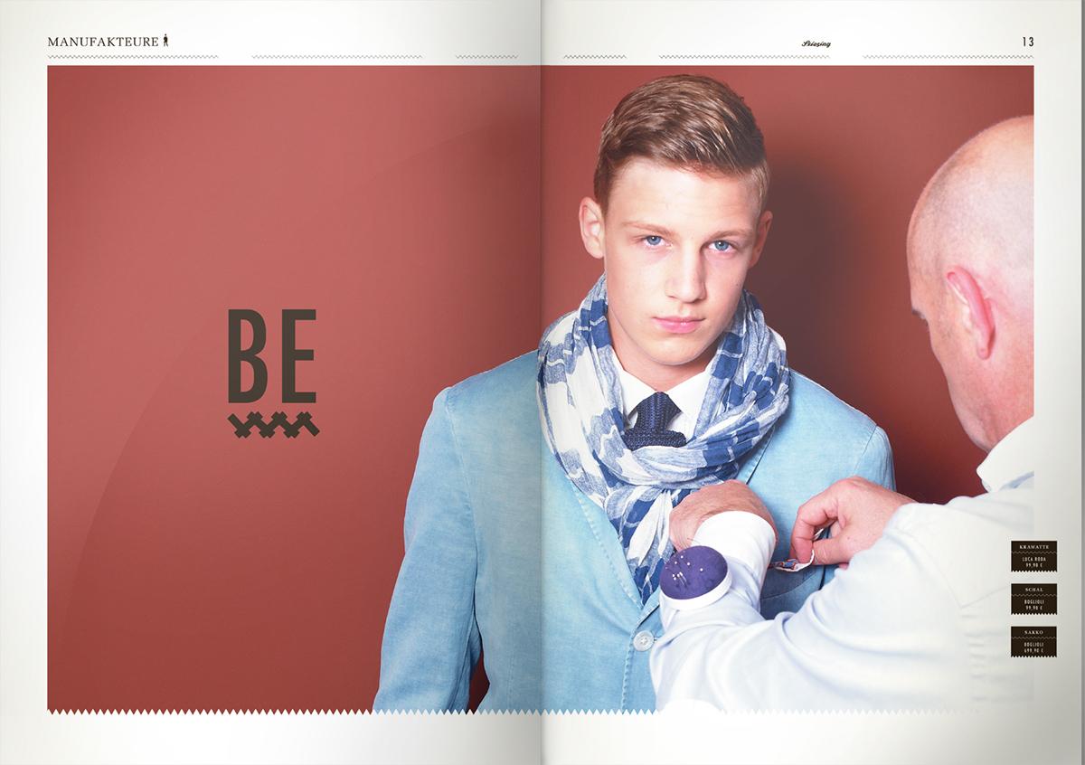 strategie Markendesign Fashion  magazin Grafikdesign