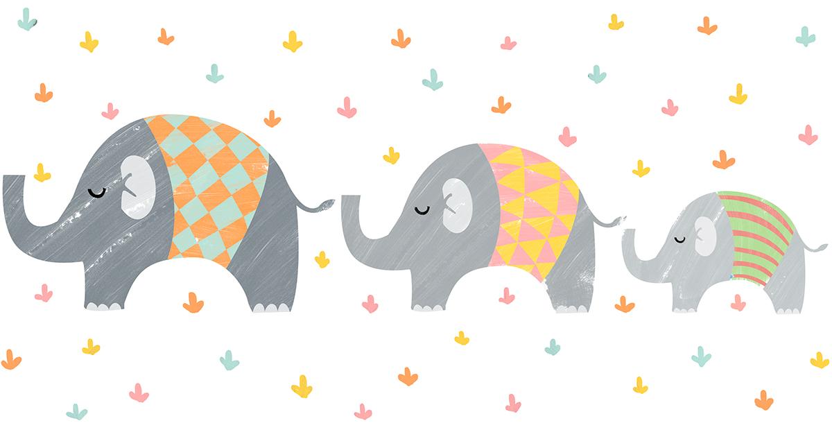 ilustración infantil Diseño estampados telas ilustracion