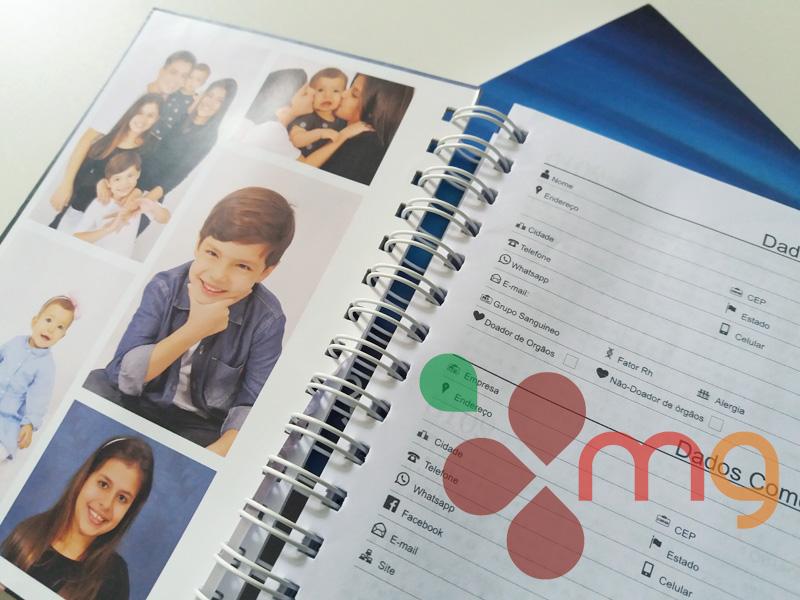 agenda papelaria Personalizada