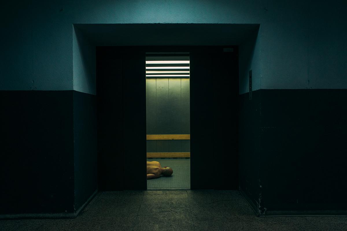 jim de block 7delicous surreal Limbo floating stuck inbetween transitional landscapes human dream