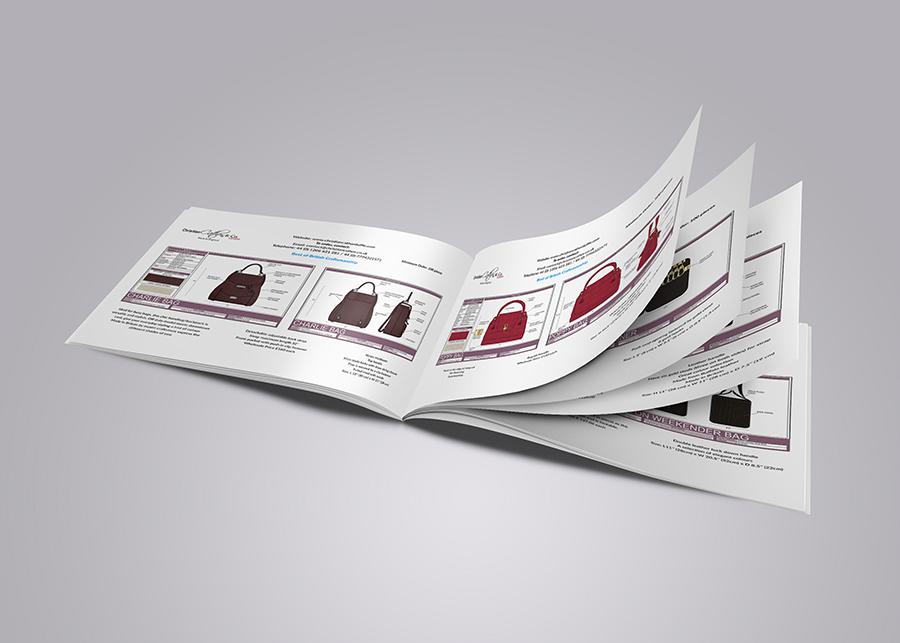 landscape catalogue design on behance
