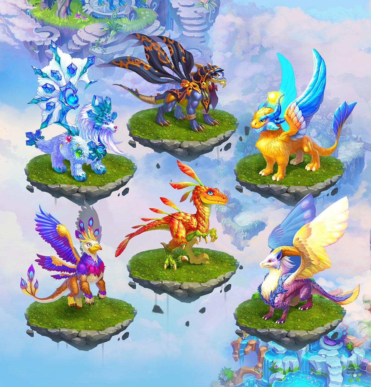 картинки всех драконов из земли драконов