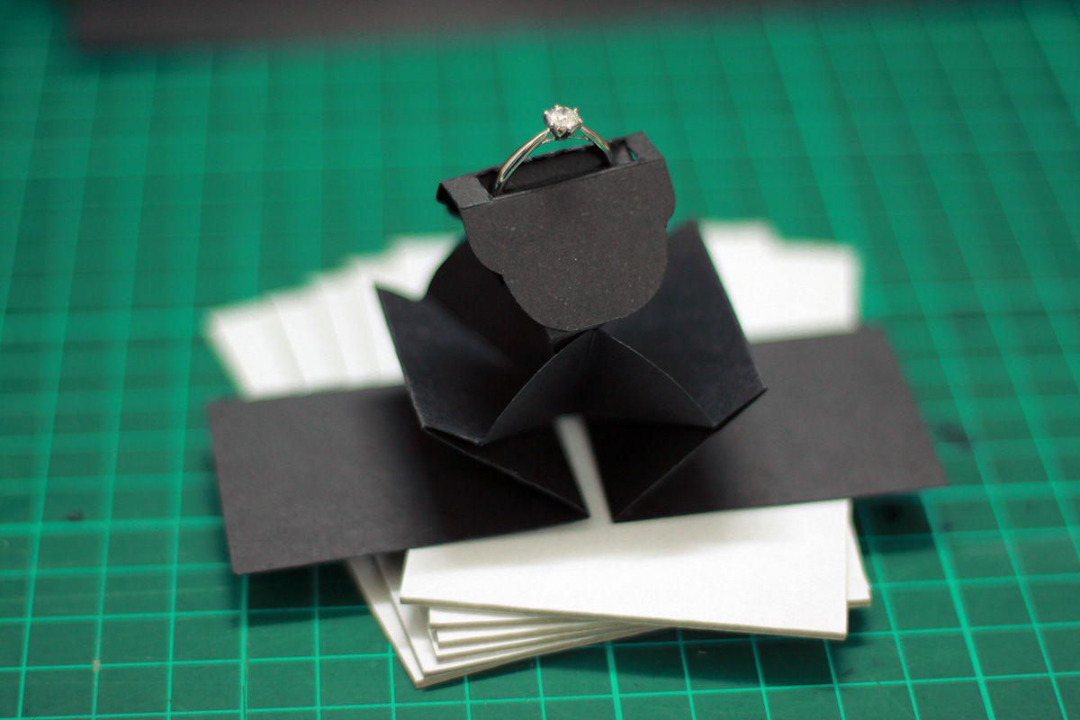 Learn how to make a square origami gem box. This is great as a ...   800x1200
