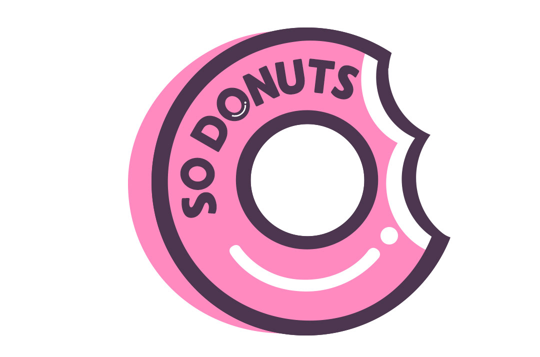 brand identity sodonuts designed by jowebart