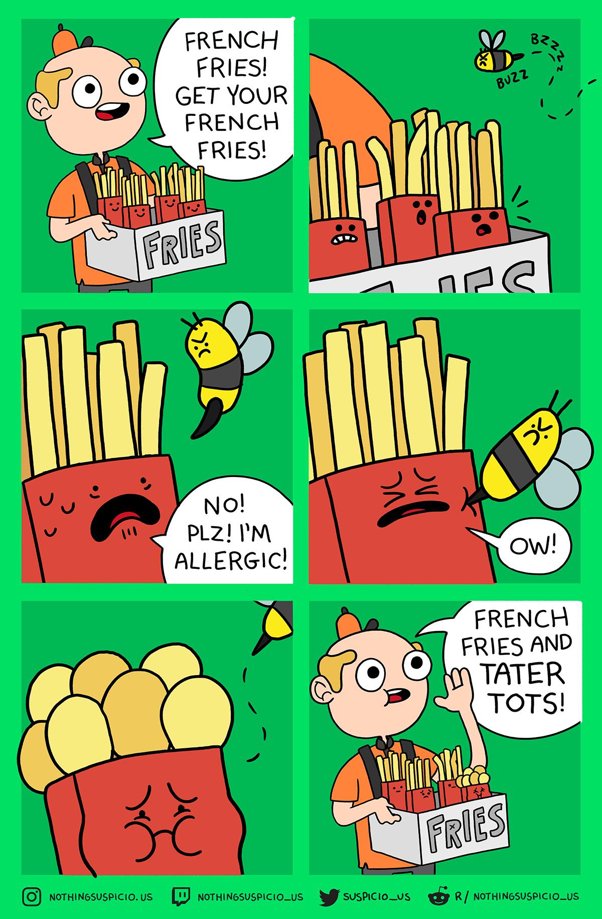 comics webcomics Cartoons funny humor gags comic strips Nothing Suspicious Ryan Selvy