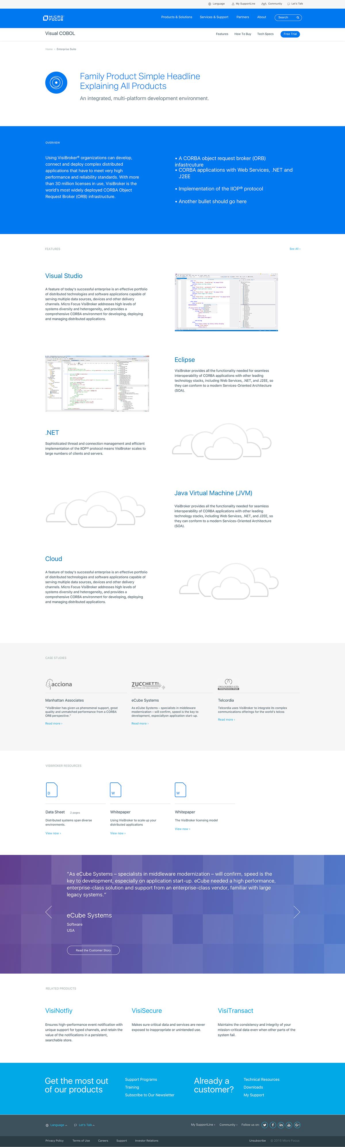 redesign,Website,tech,blue