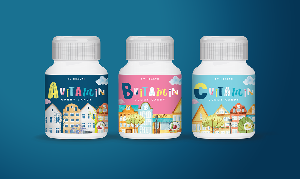GV Health | Branding & Packaging Campaign on Student Show