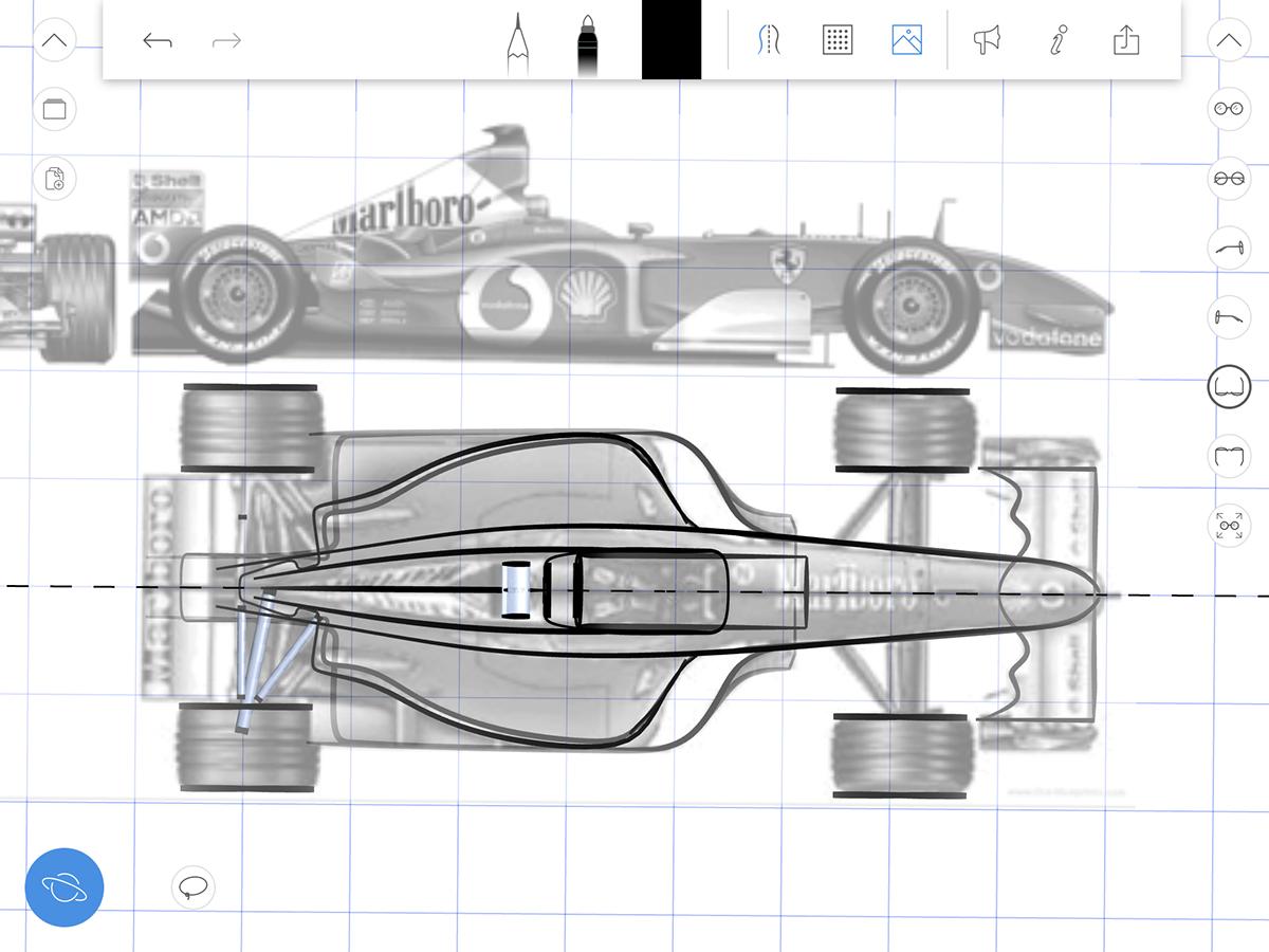 uMake Formula One Car : Rendered. on Behance