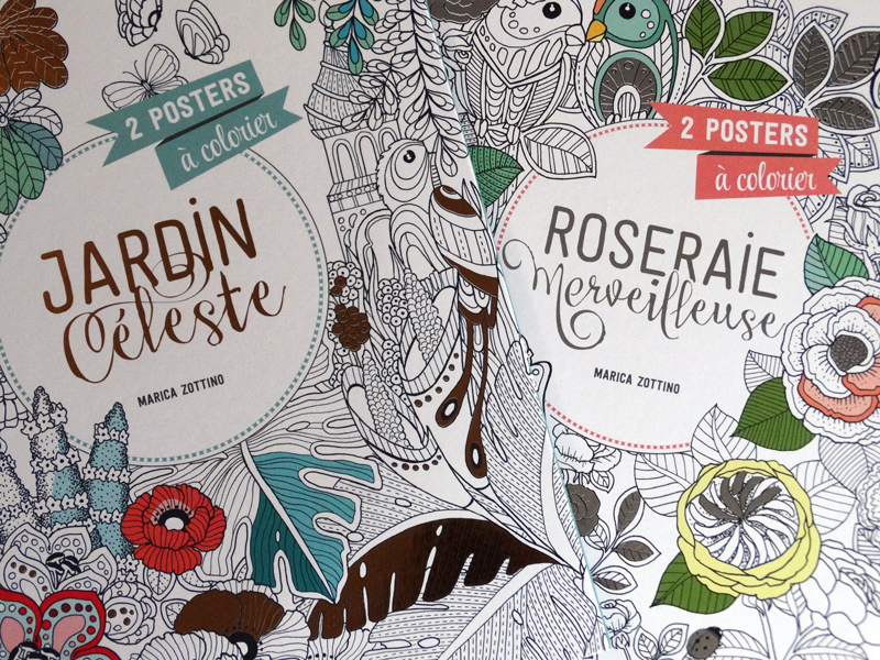 Coloring Posters On Behance