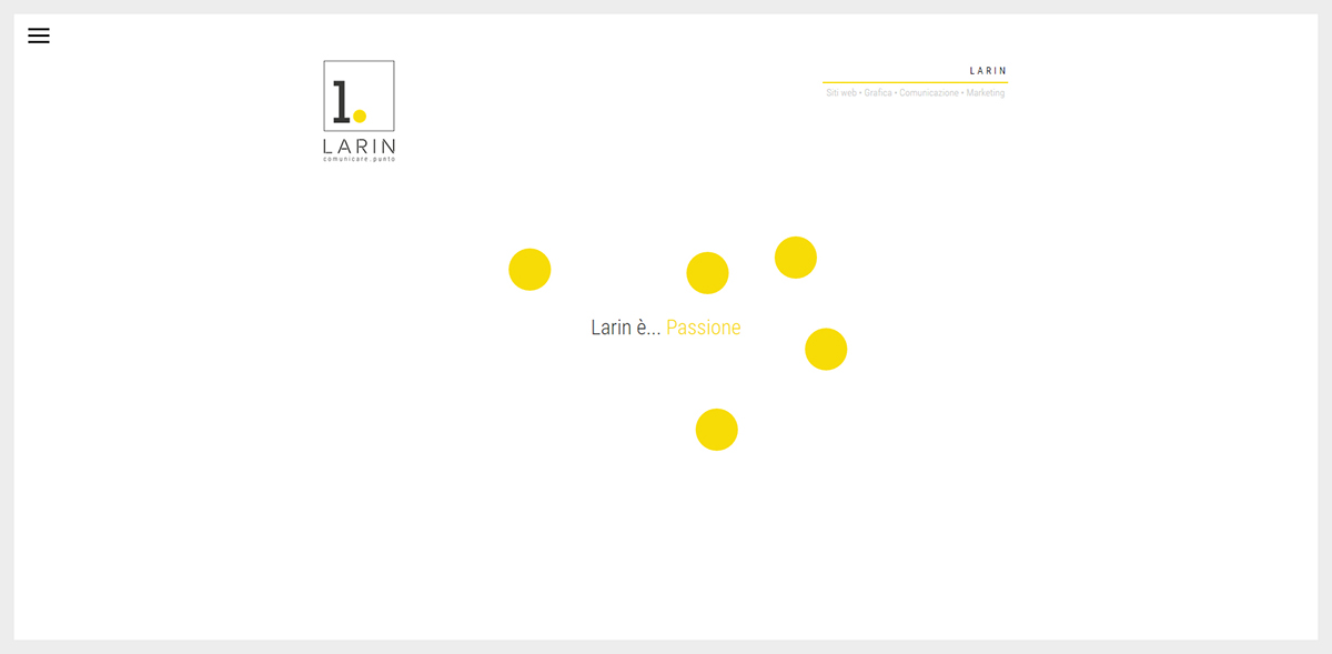 larin Dolomiti italia web agency team page Website point Belluno