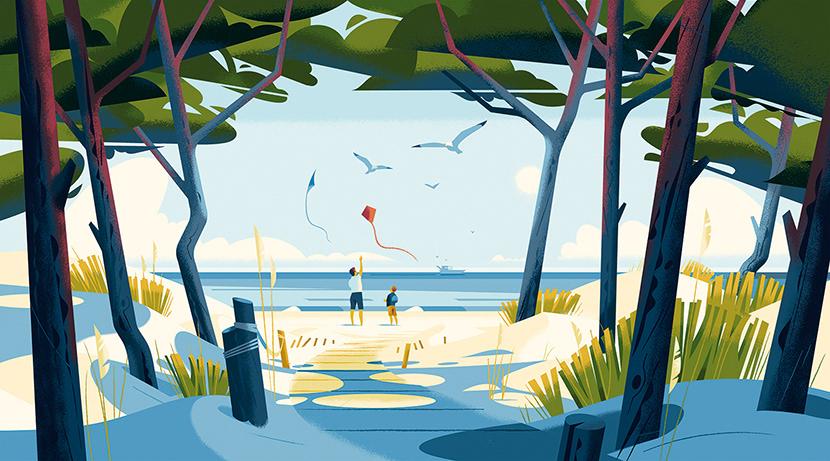 Advertising  awareness biodiversity campaign Landscape Nature tourism fauna Flora france