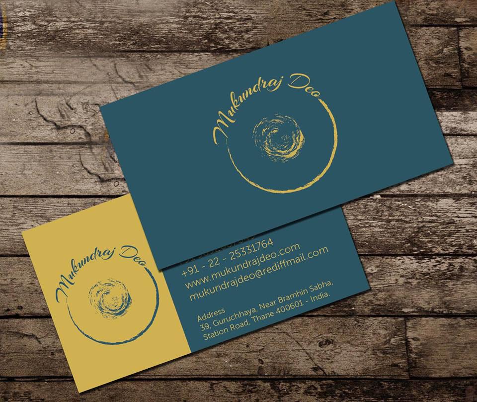 Business Card for Tabla Artist (Musical Instrument) on Behance