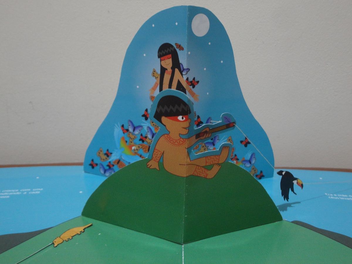 Popup poronominaré mito indígena