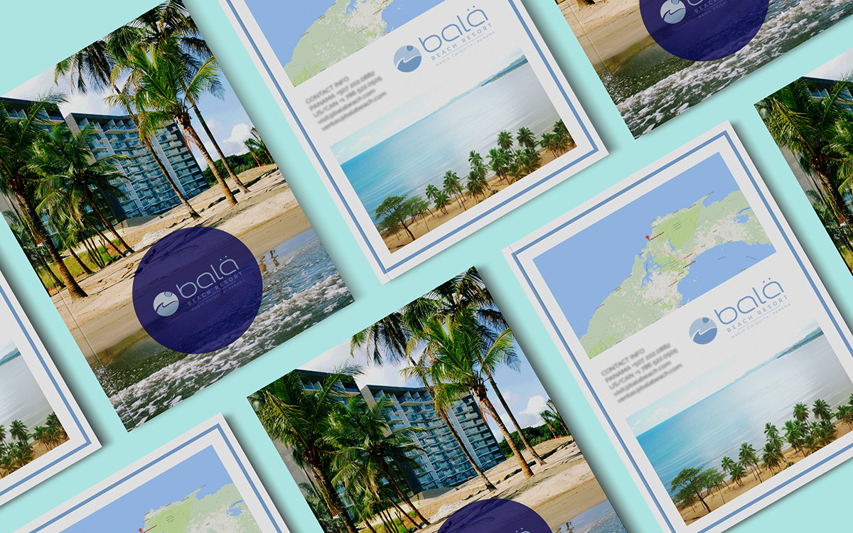 brochure magazine invest real estate Travel property print book