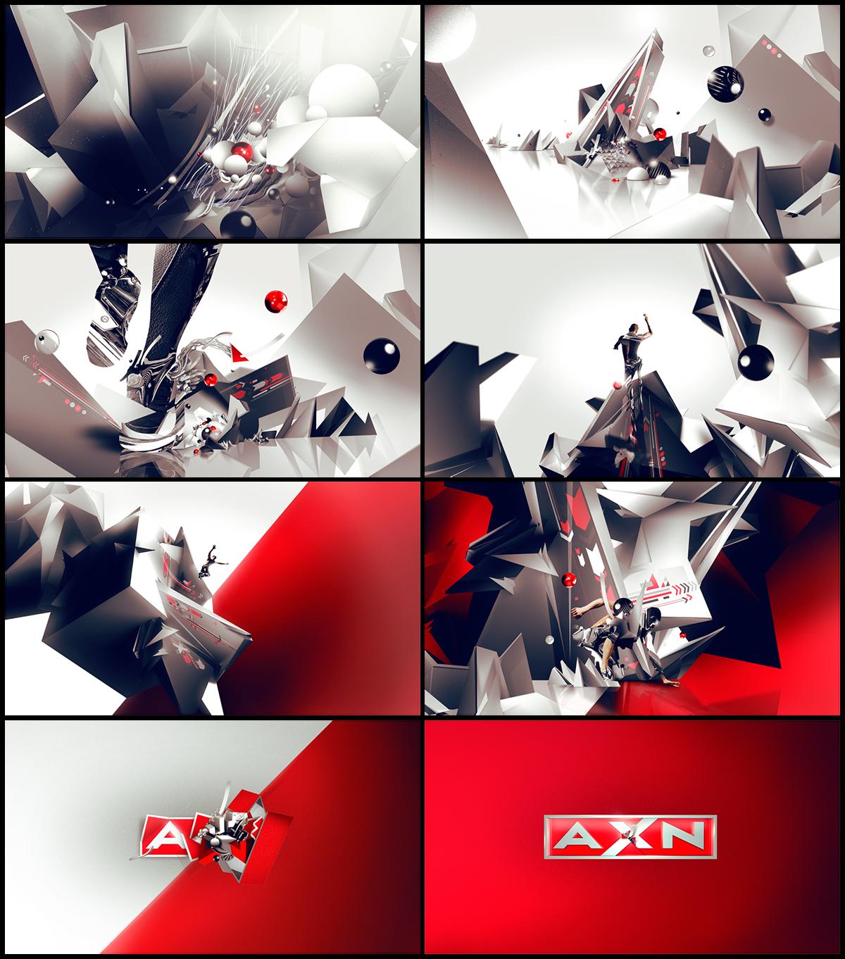 AXN - Rebrand on Behance
