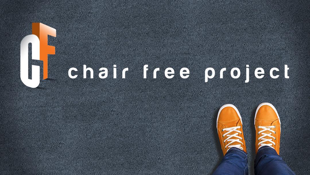 logo athletic chair free rebel desk negative space