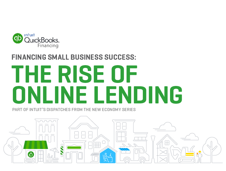 eBOOK: Quickbooks: The Rise of Online Lending Guide on Behance