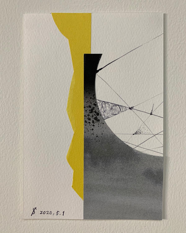 Image may contain: abstract, art and drawing