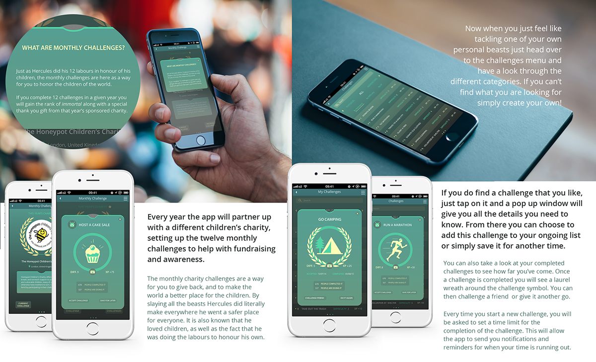 Herakles App on Behance