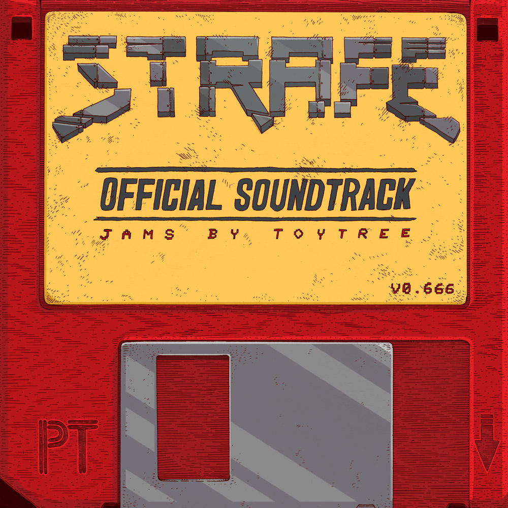 Strafe 174 Official Soundtrack Vinyl On Sva Portfolios