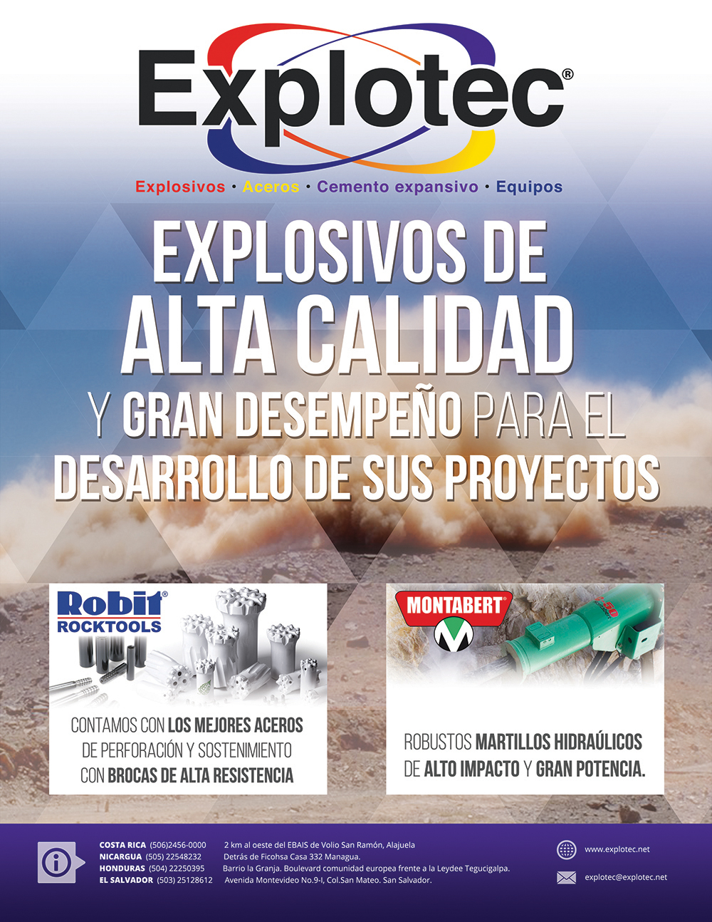 Explotec Magazine Ad
