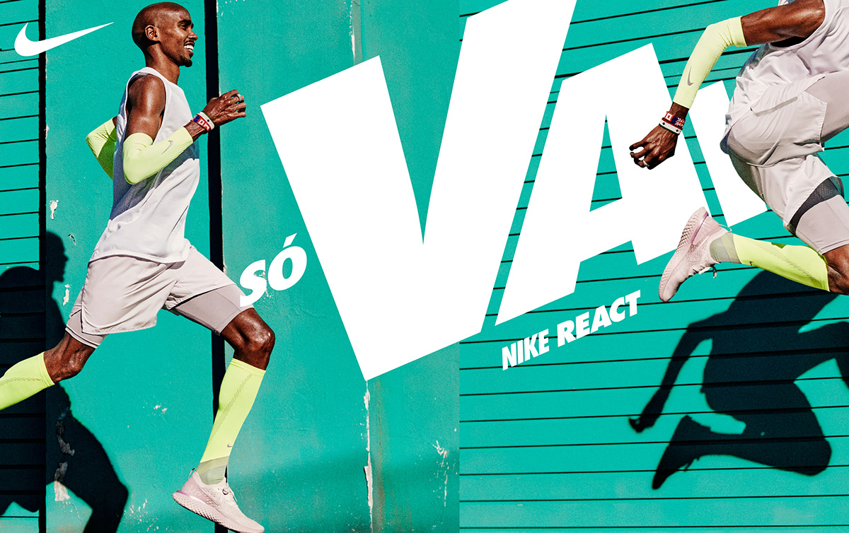 Nike React on Pantone Canvas Gallery