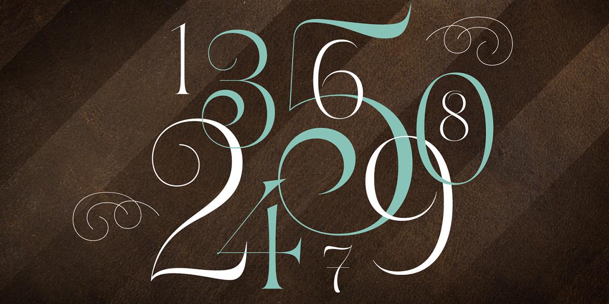 Typeface type design font type