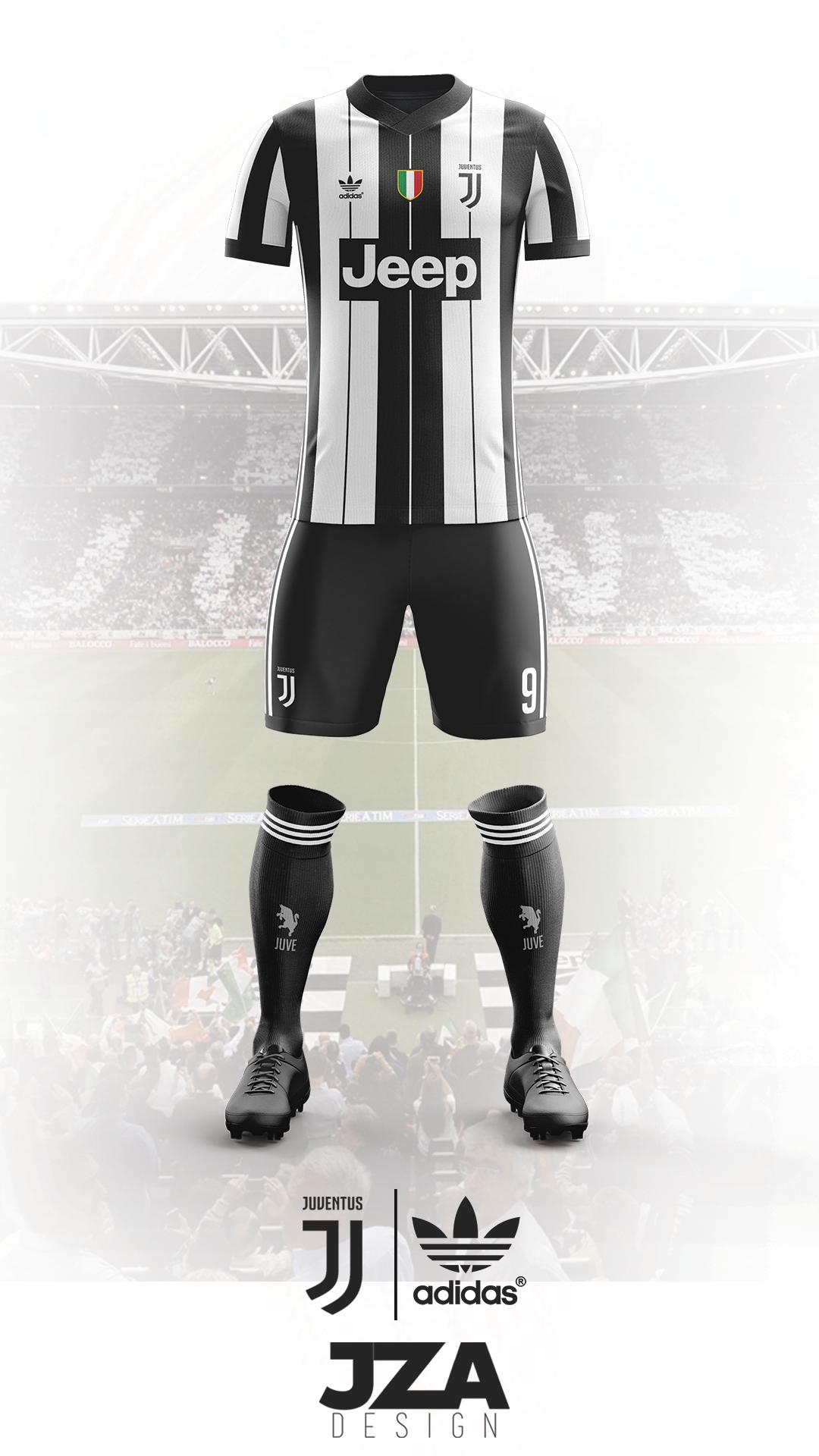80427f75b67 Juventus 17 18 Home Kit Concept on Behance