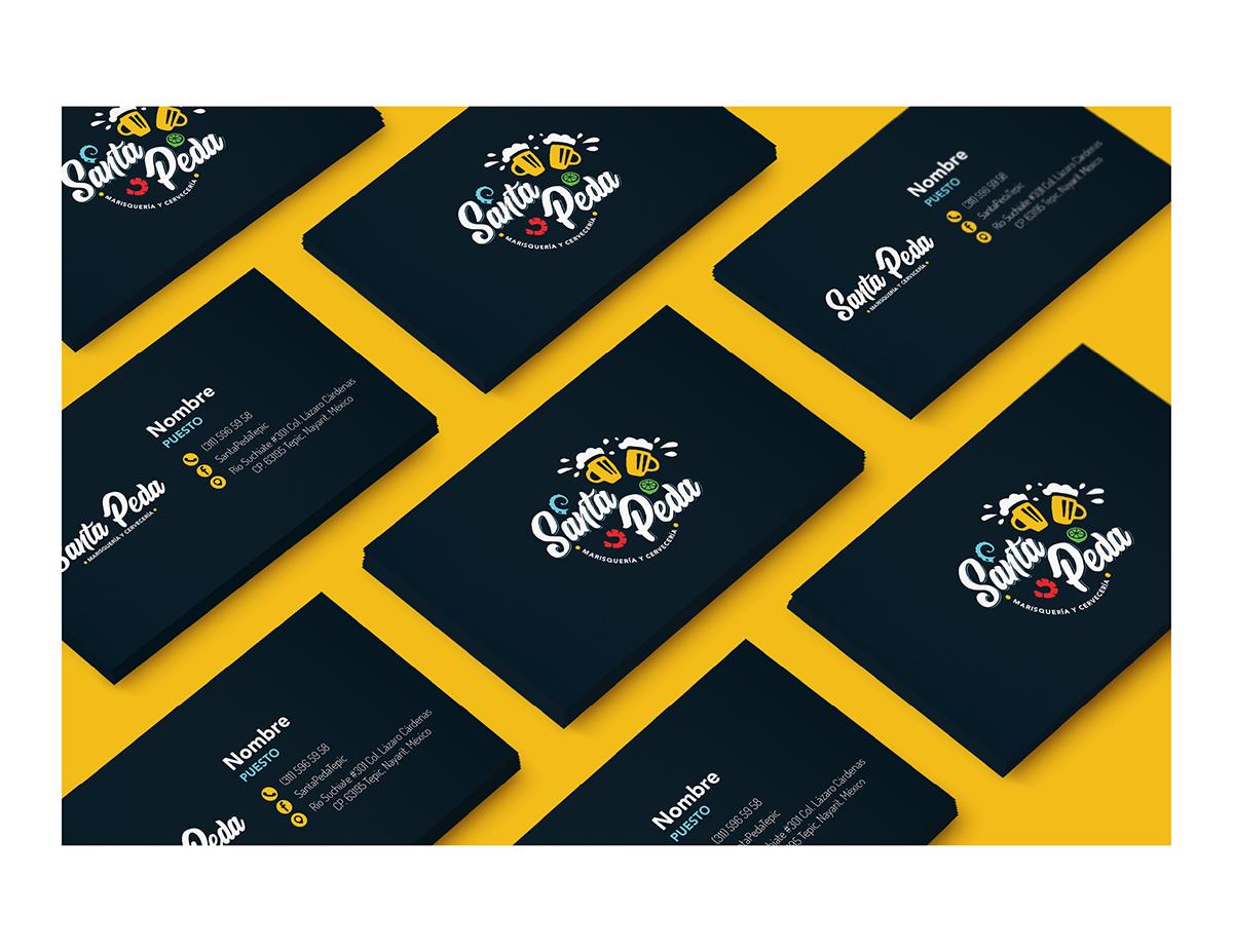 brand visualidentity brandbook restaurant stationary icons iconography businesscard letterhead