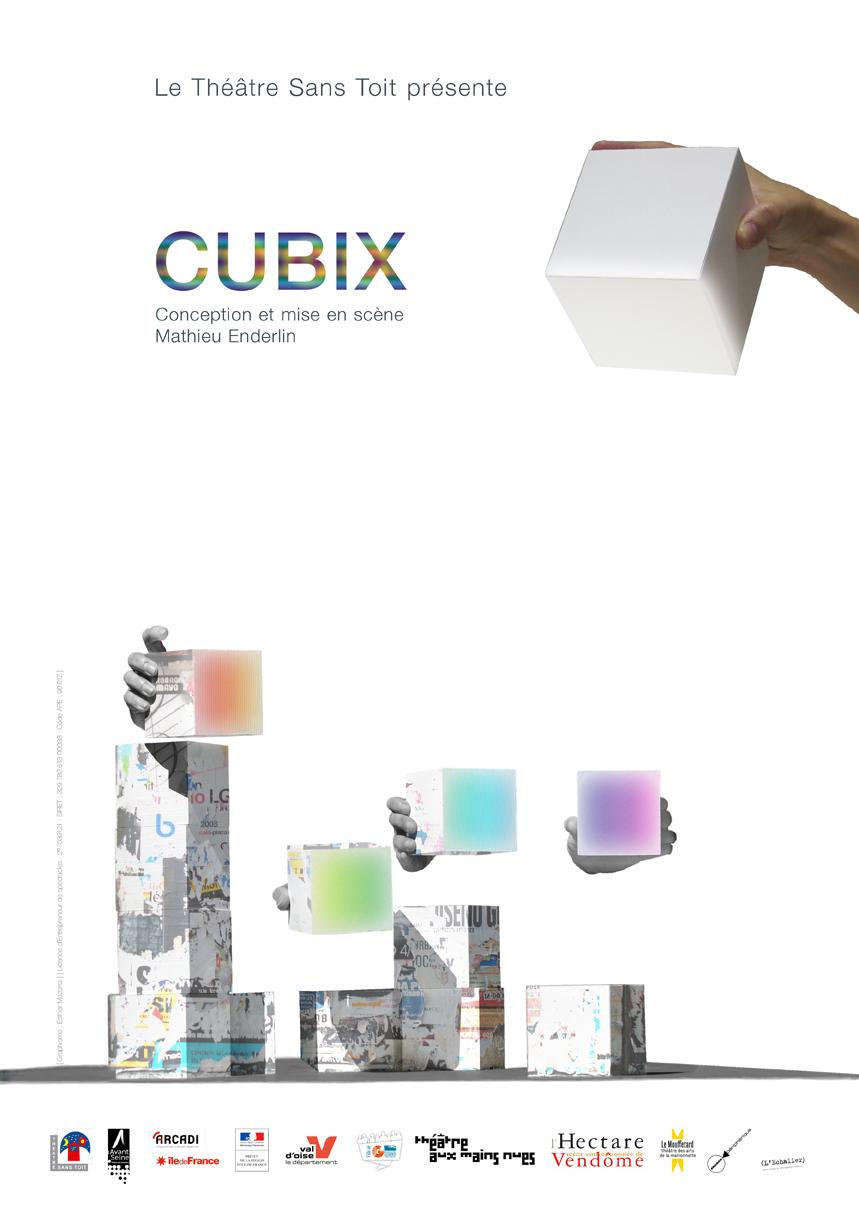 cubix theatre sans toit mathieu enderlin affiche spectacle marionnettes