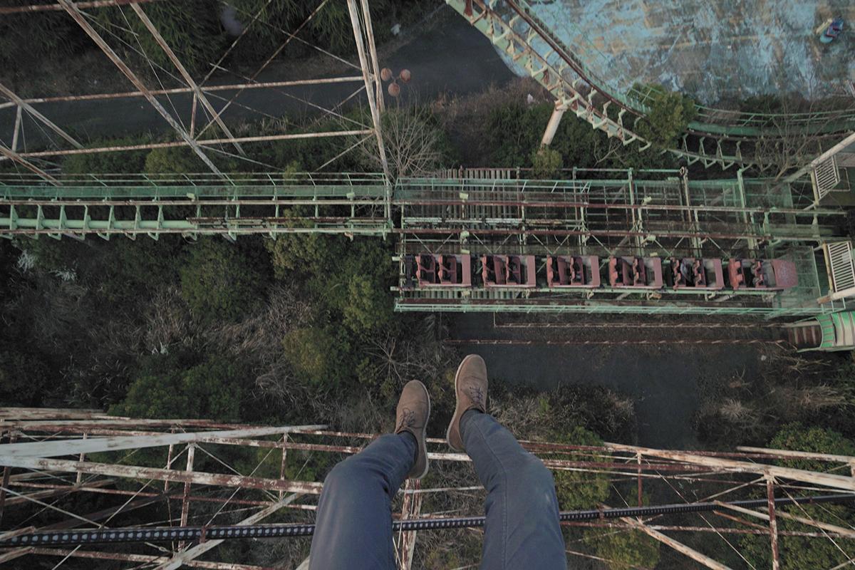 Theme Park urbex Urban exploration Nara dreamland illegal journey