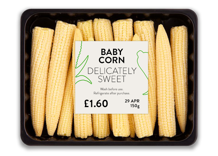 Baby Corn packaging concept by Philippe Tyan