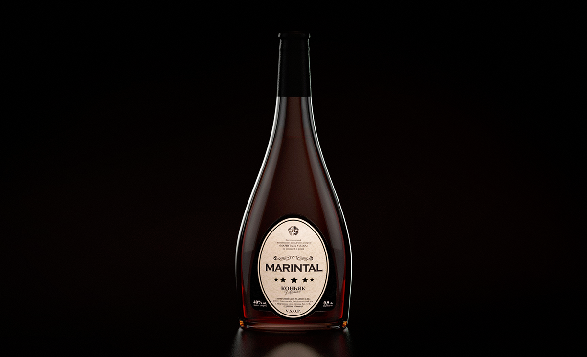 cognac packing design on wacom gallery