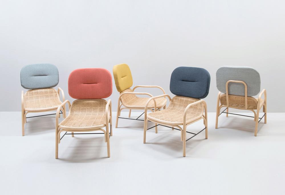 AC/AL,design,furniture,rattan,Orchid Edition,armchair,bench,mirror,AC/AL studio