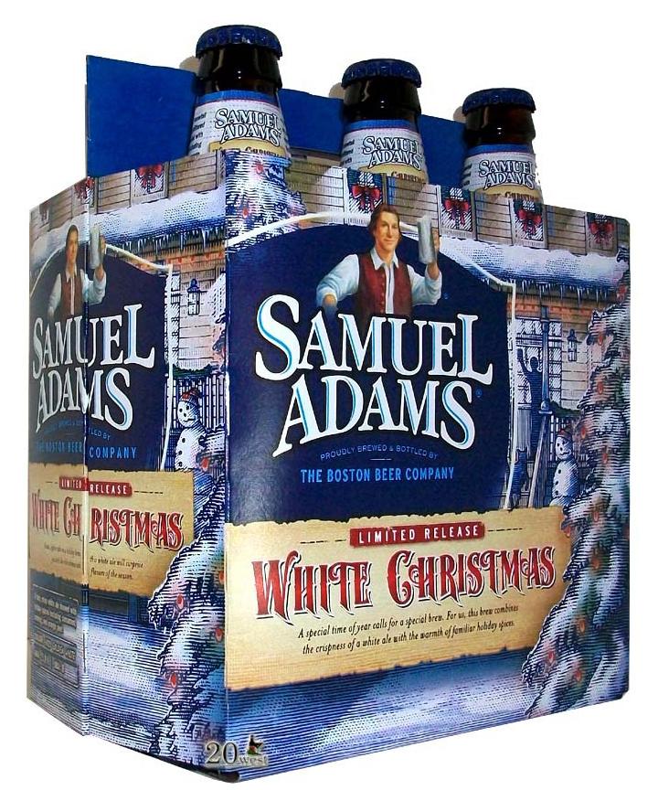 samuel adams packaging illustrations by steven noble on behance - White Christmas Sam Adams