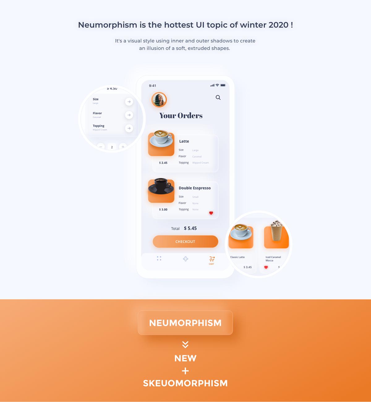 app design cofee app neomorphic app neomorphism neumorphic neumorphic app neumorphic free neumorphic xd neumorphism neumorphism xd