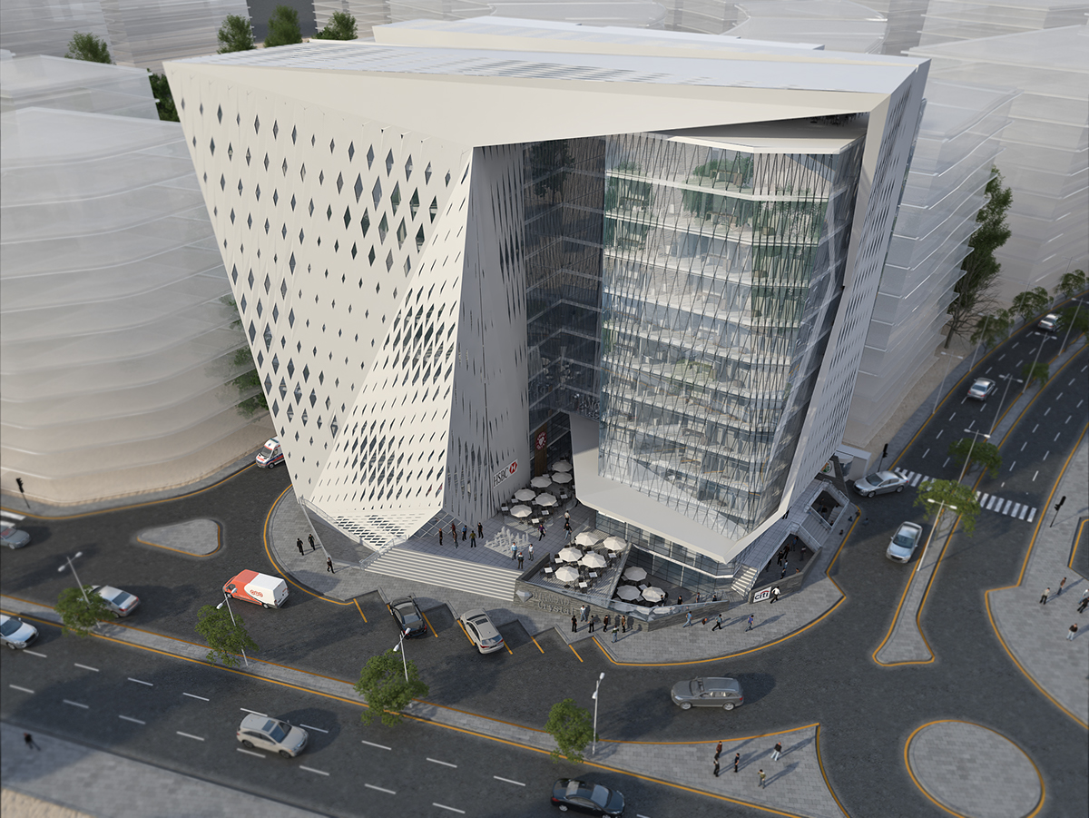 Al Maadi OFFICE BUILDING on Behance