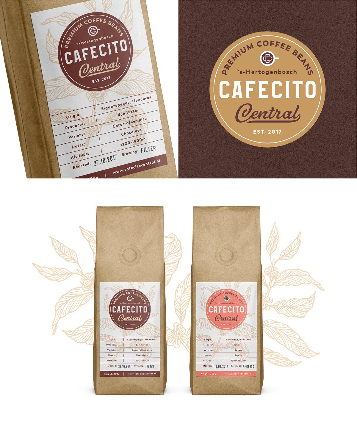 Organic Coffee Logo Collection