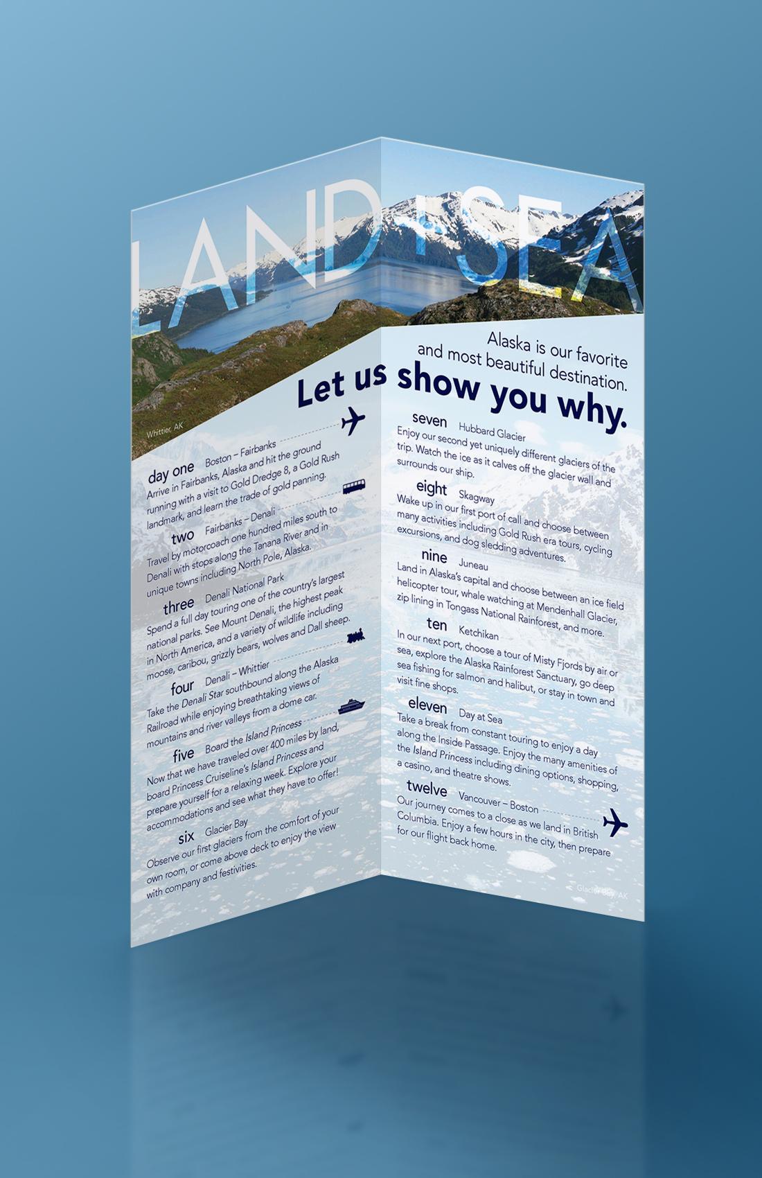 Alaskan Travel Brochure On Behance