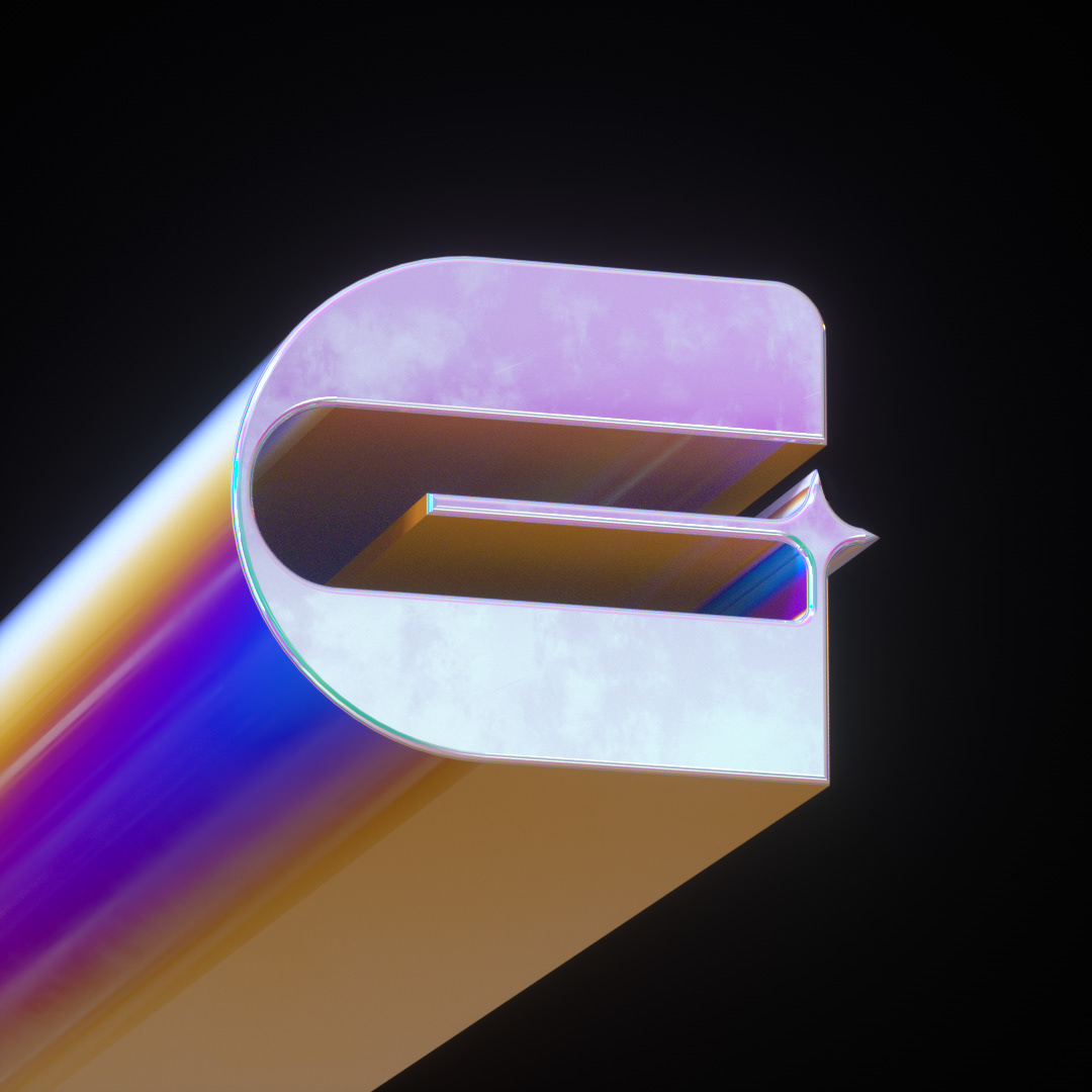 abstract cinema 4d gradient holo holographic holographic texture iridescent octane poster