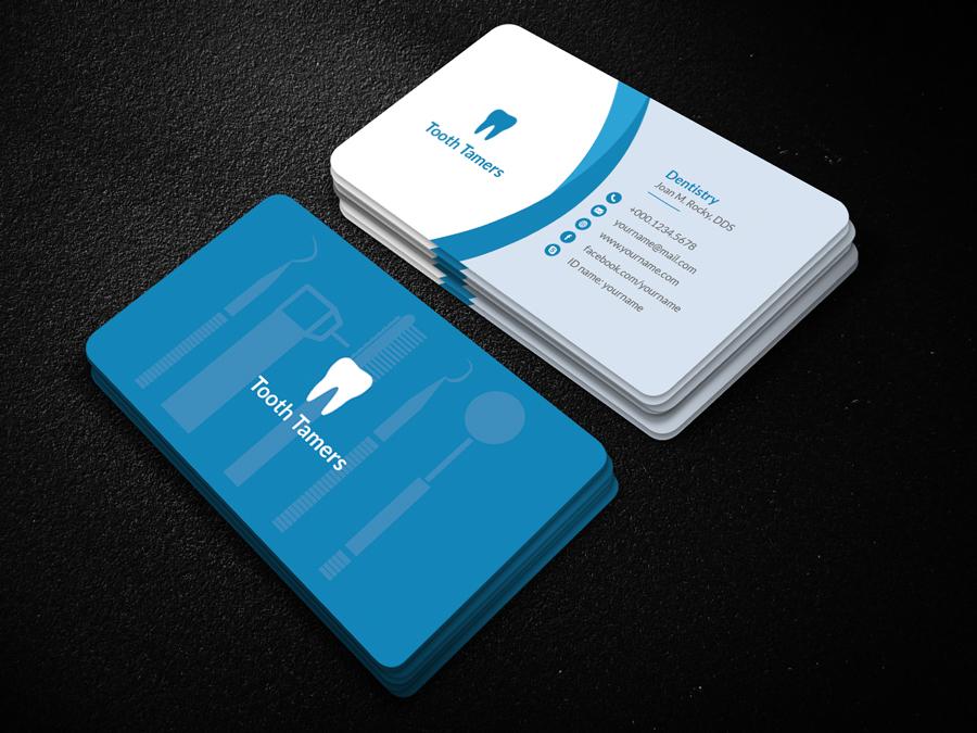 Dental Business Card on Behance