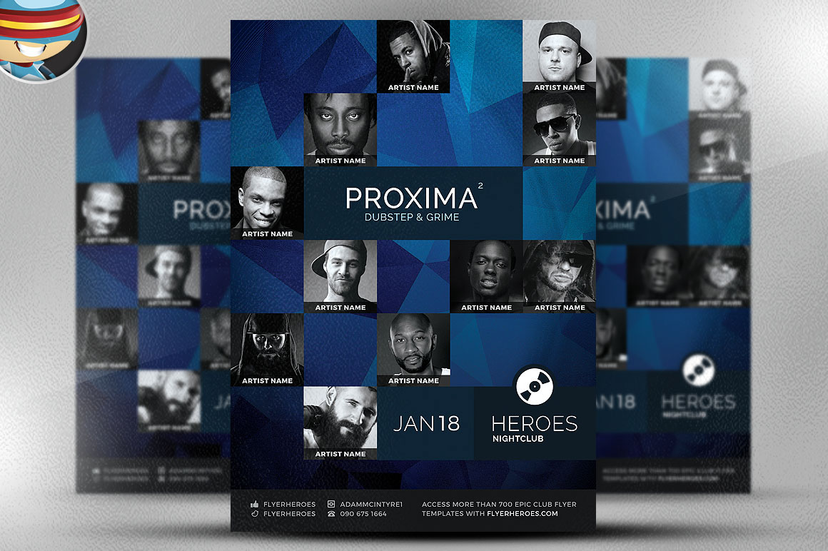 Proxima Free Flyer Template On Behance