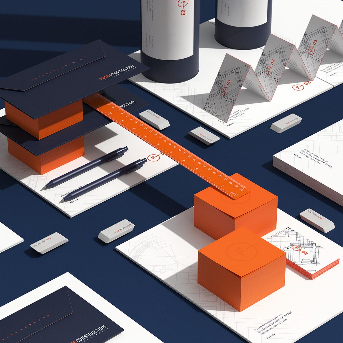 Urban construction city stationary architecture metropolis blueprints technical minimal modern