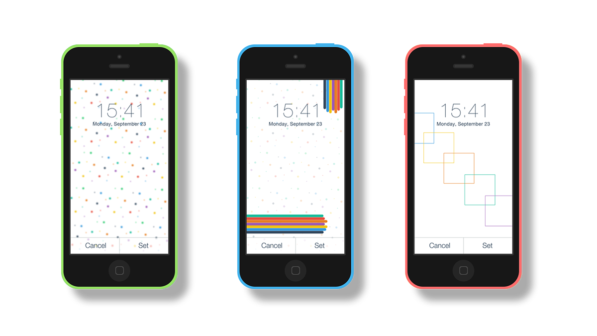 IPhone-5C-Animated Wallpaper On Behance