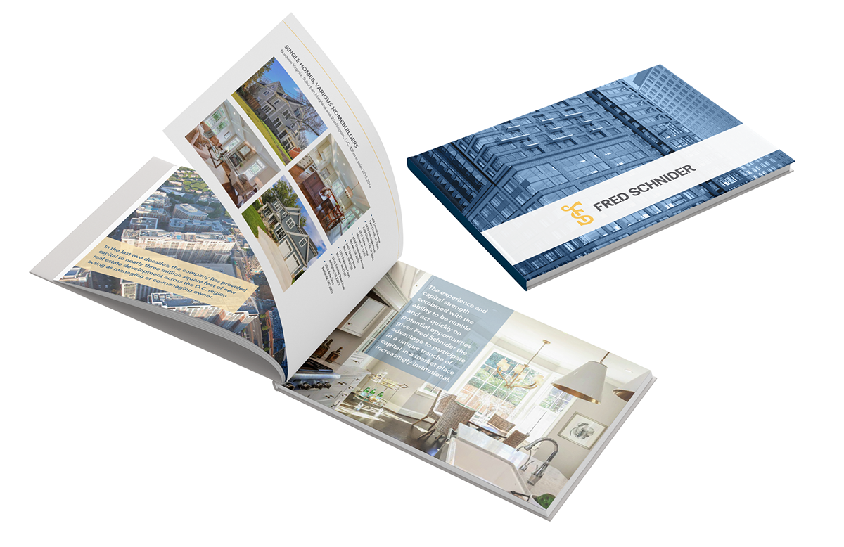 real estate portfolio book on aiga member gallery