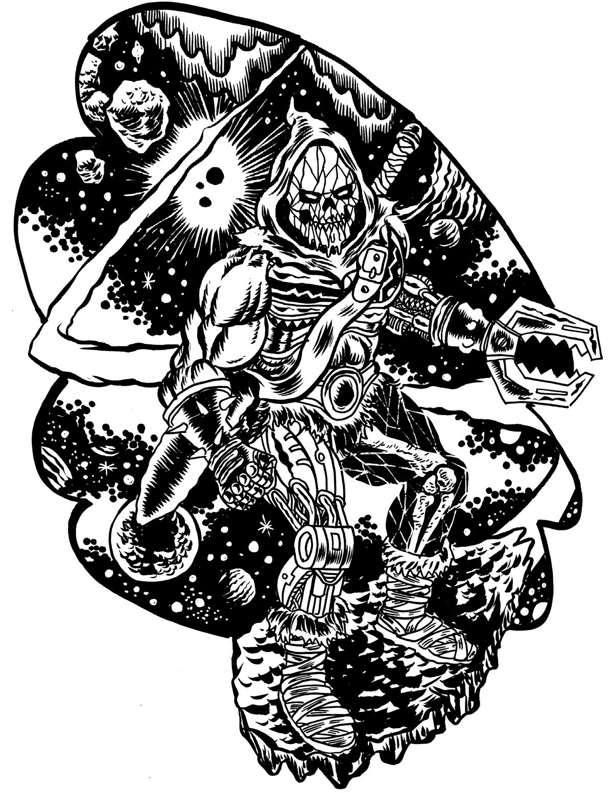 comics skull