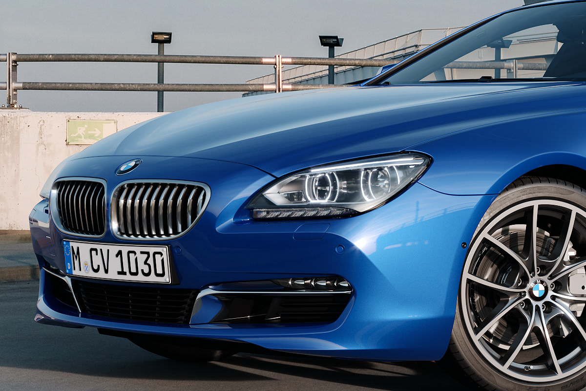 Bmw 6 Series Gran Coupe Cgi On Behance