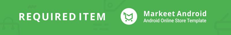 Markeet Flutter - Ecommerce Flutter App 2.0 - 2