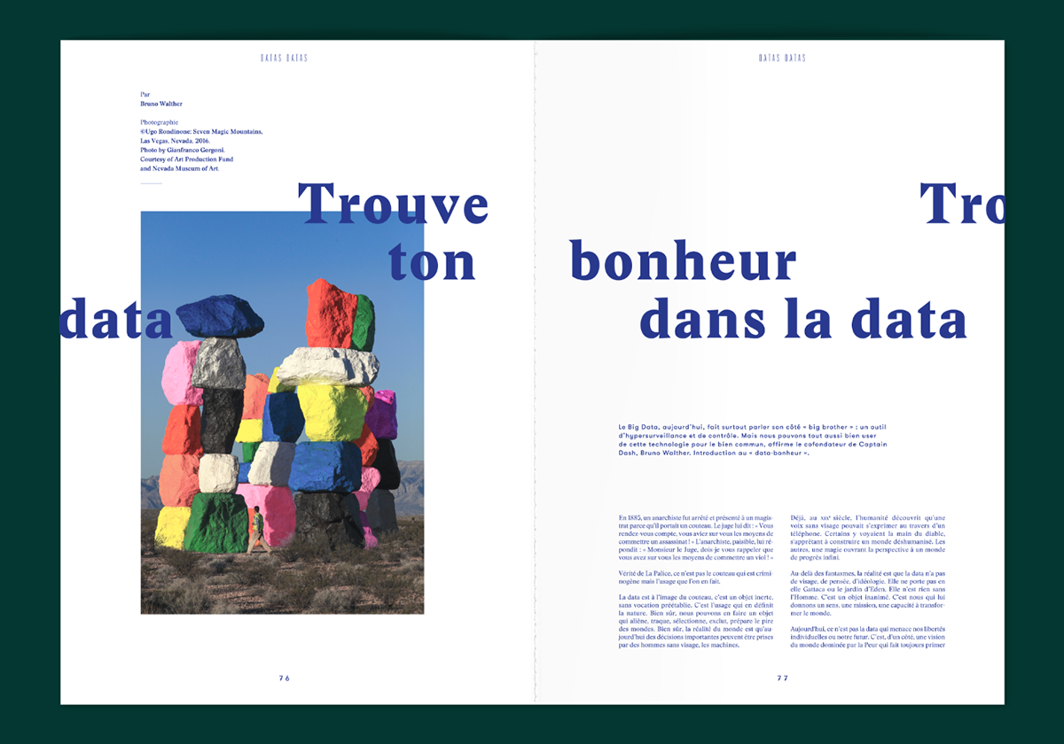 adn Violaine & Jeremy power editorial font magazine yellow